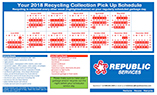 Davie County Recycle Schedule 2018 150px