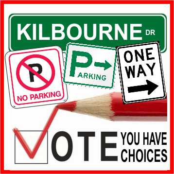 Kilbourne Drive Vote