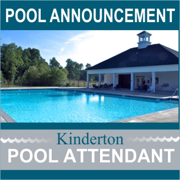 Pool Announcement